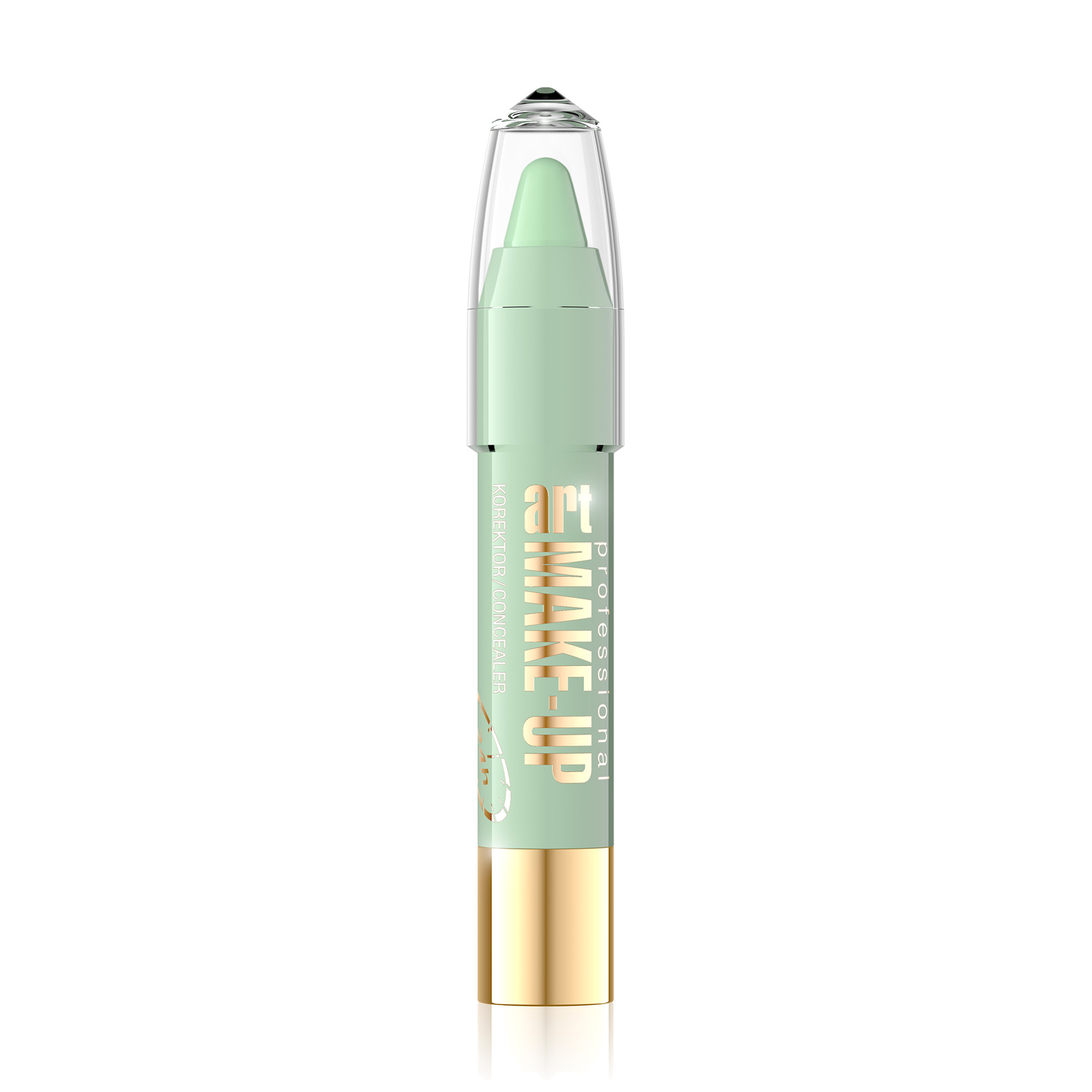Карандаш корректирующий Eveline Art. MAKE-UP тон 4 GREEN, 9мл Eveline Cosmetics