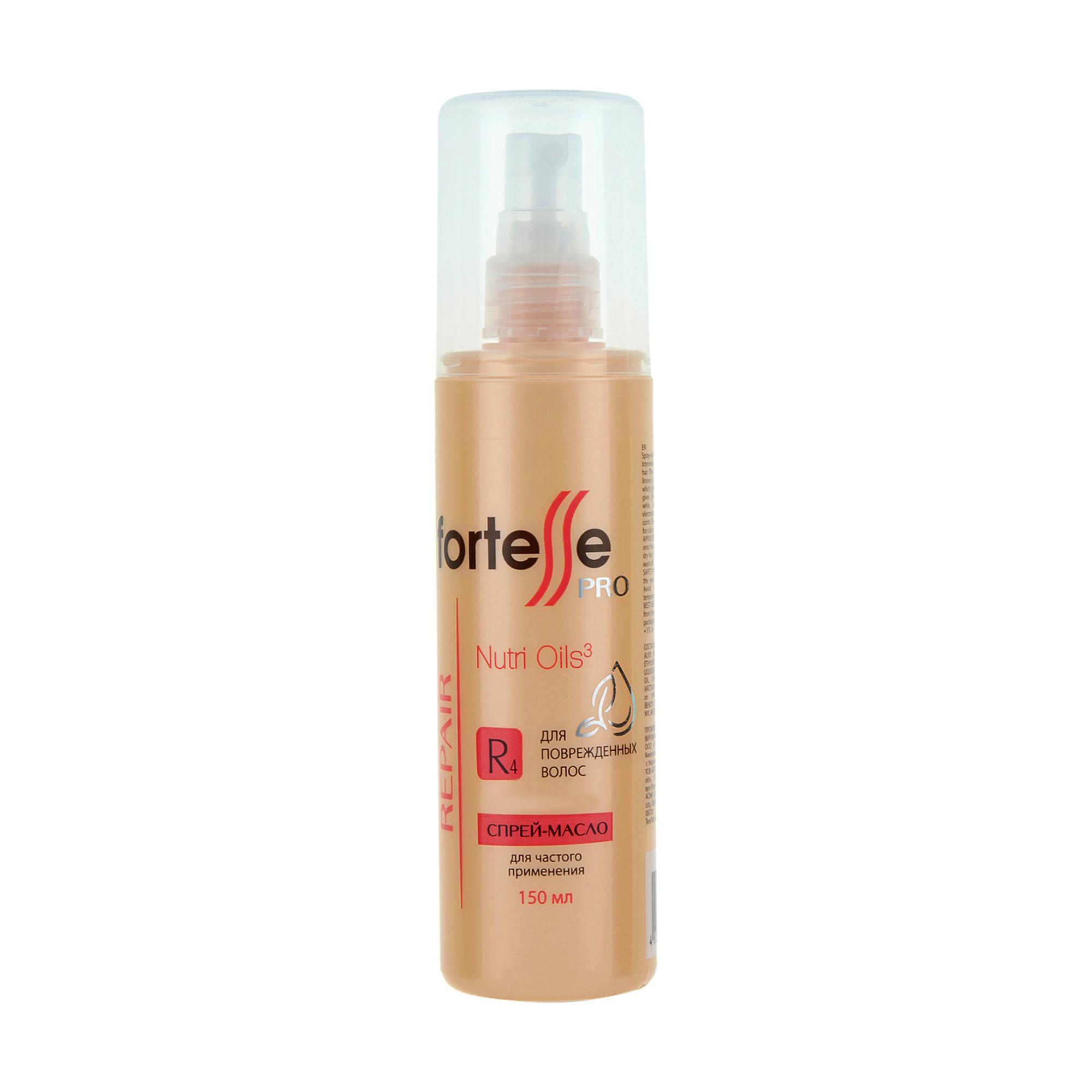 Спрей-масло Fortesse для поврежденных волос, 150 мл