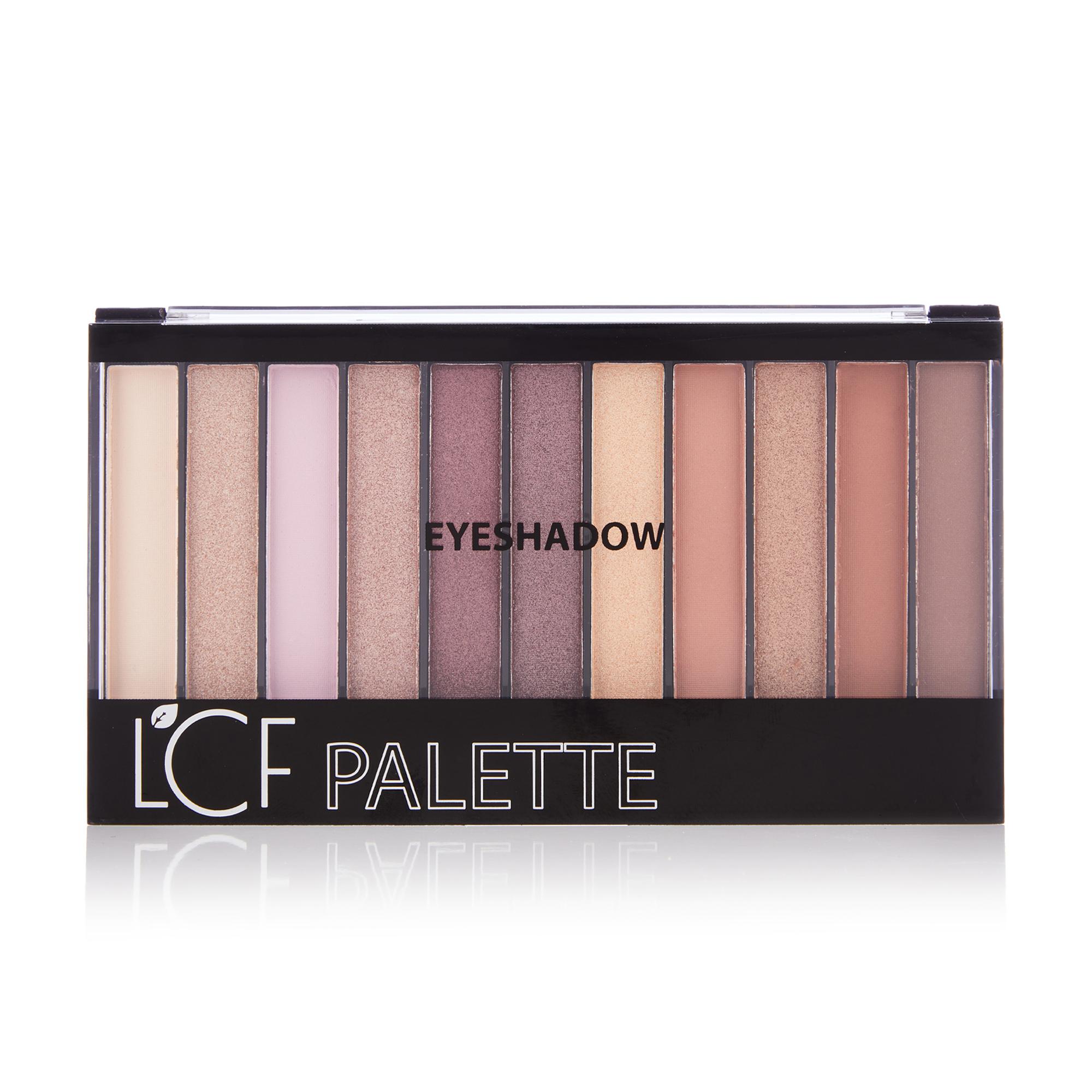 Палетка тіней для повік LCF Pallete Eyeshadow тон 2 Рожевий, 22 г