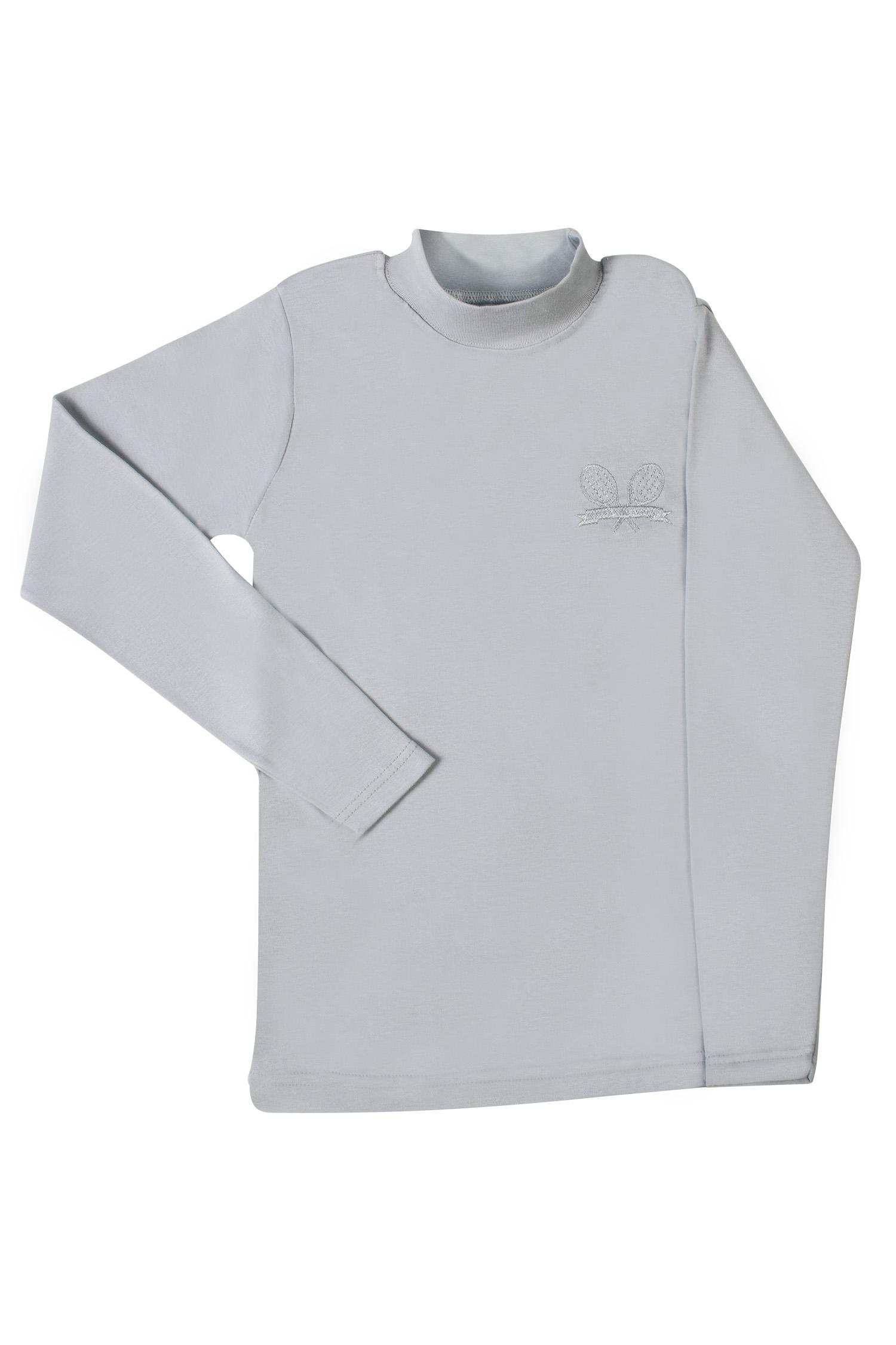 Гольфик детский Umka для мальчика  р.7 рост 116-122 серый Tennis 6B/Gray18/06-7