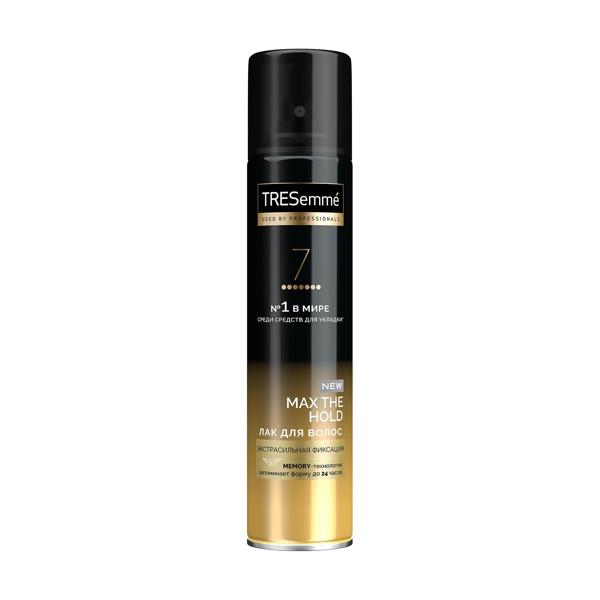 Купить Лак для укладки волос Tresemme Экстра Сильная фиксация, 250мл