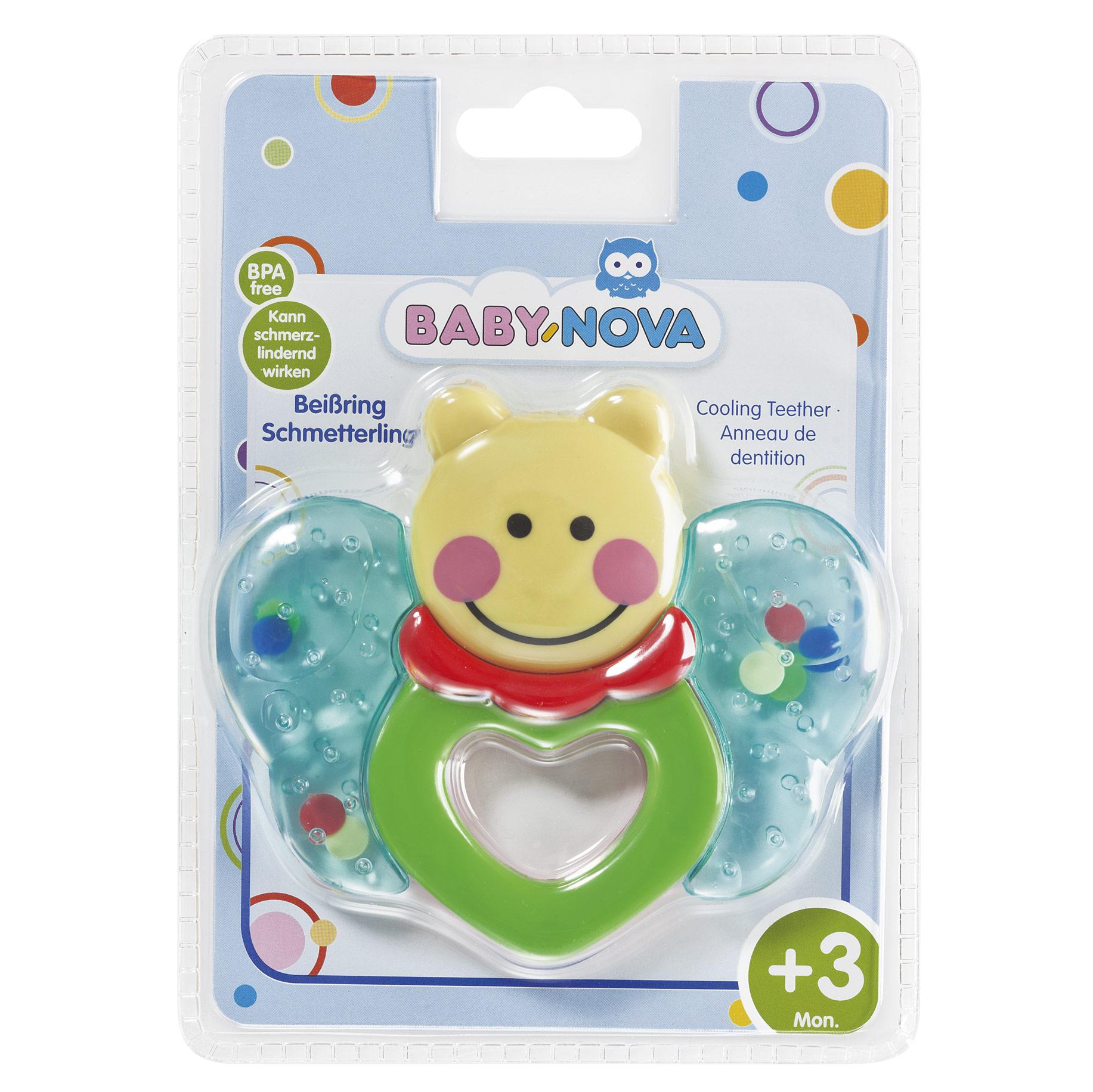 Купить Зубное кольцо Baby-Nova Бабочка