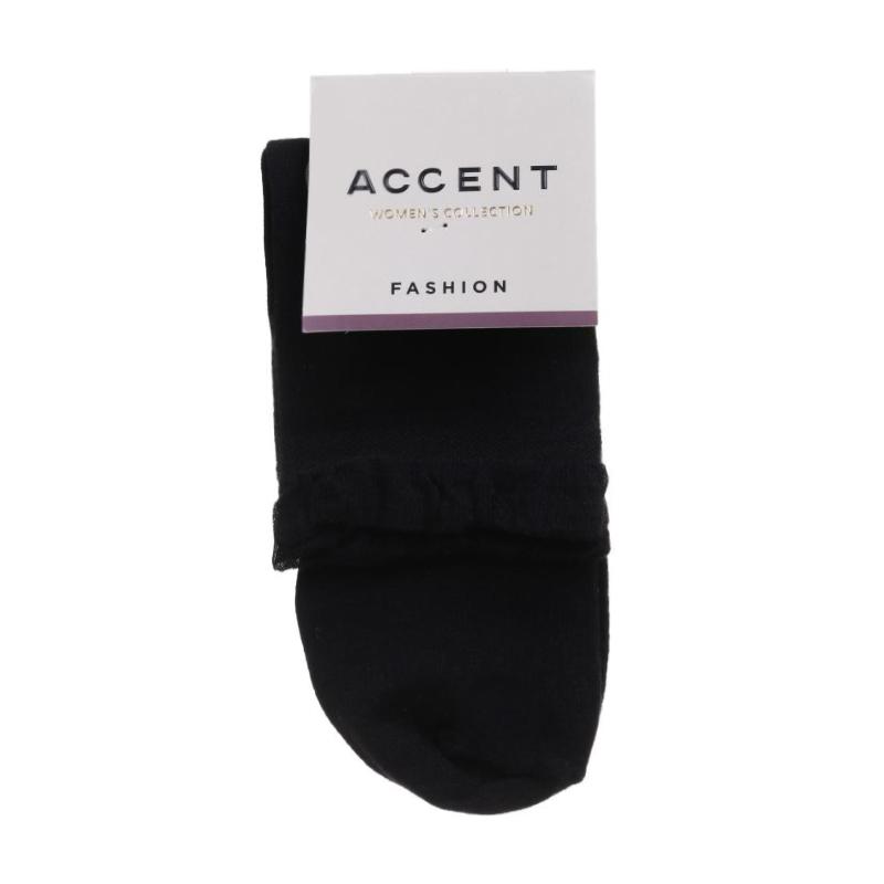 Носки женские Акцент 10891 черные, размер 25