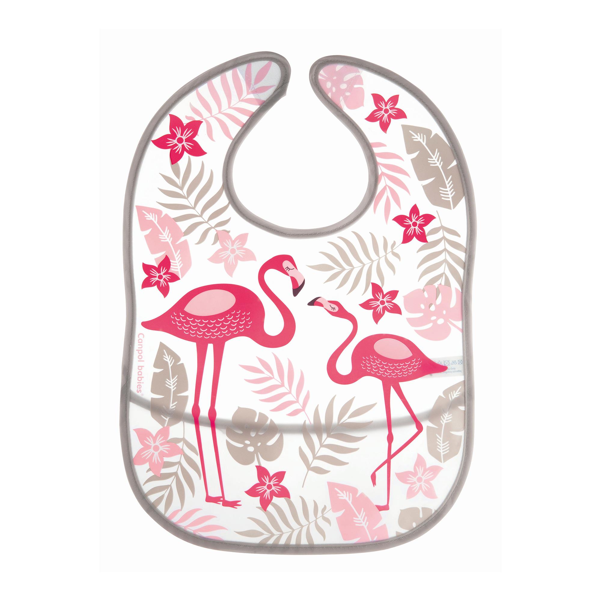 Купить Слюнявчик Canpol babies из кармана Jungle коралловый