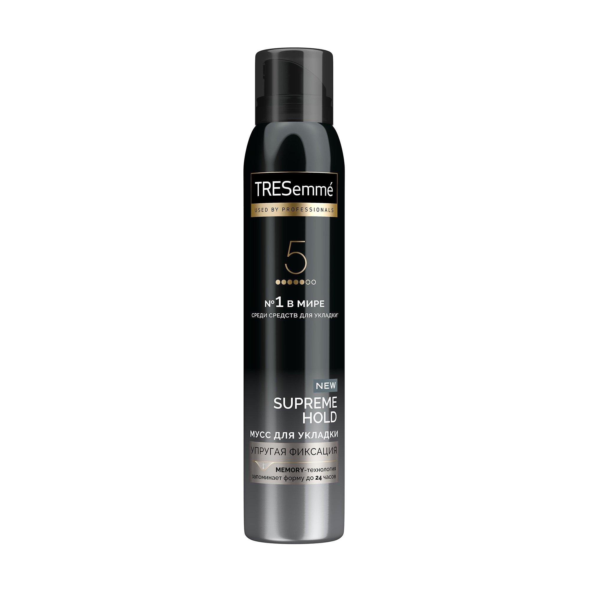 Купить Мусс для укладки волос Tresemme Сильная Фиксация, 200мл