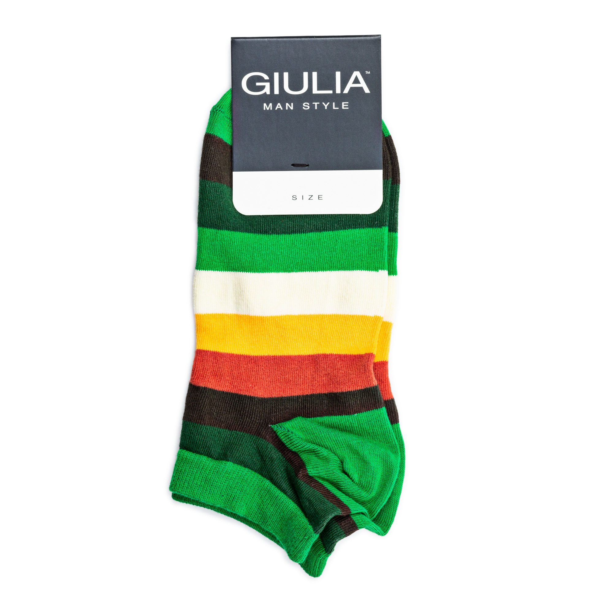 Носки мужские GIULIA MSS-001 calzino green р.41-42