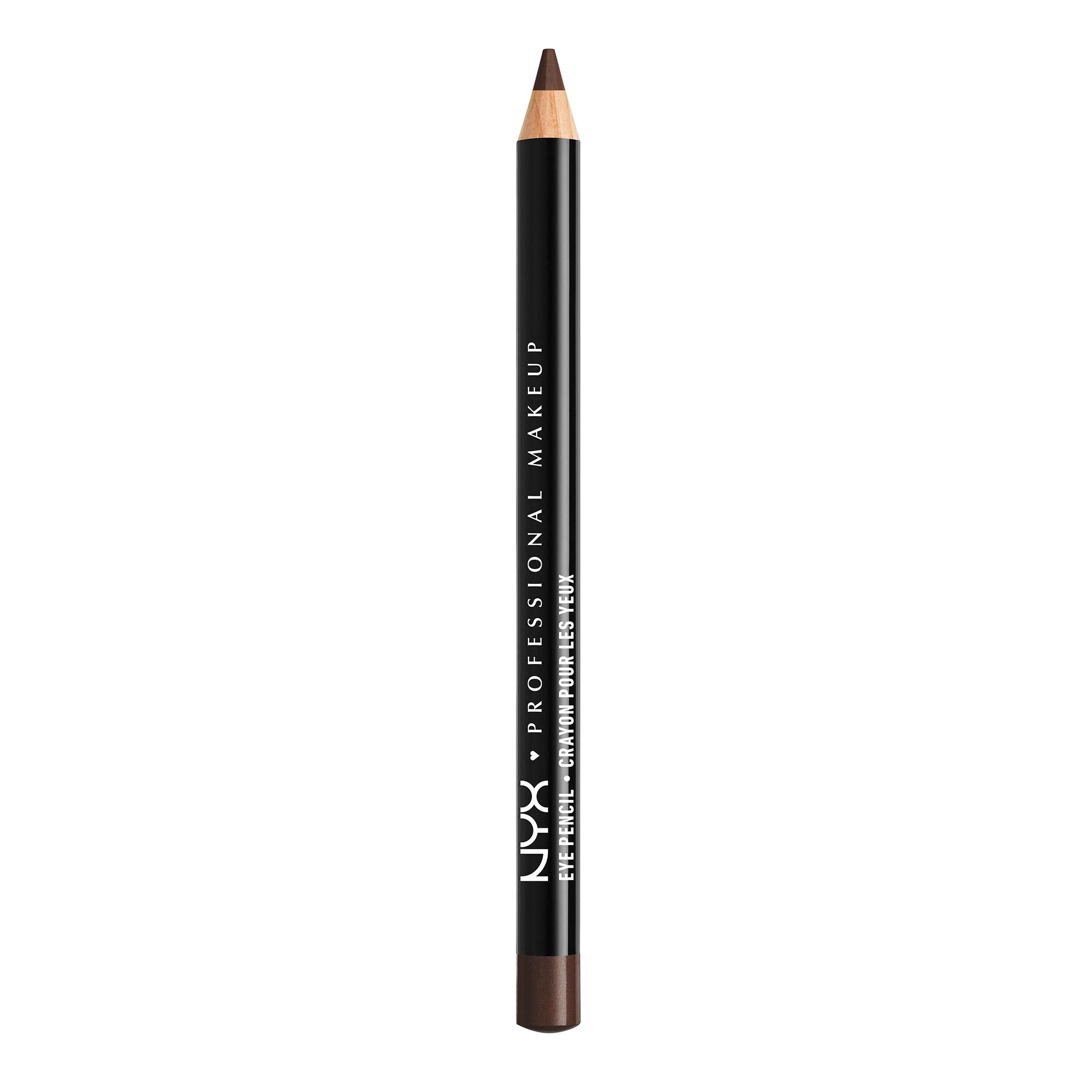 Карандаш для глаз NYX Professional Makeup Slim Eye Pencil 931 Black Brown 1г