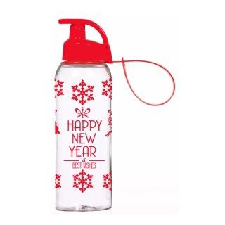 Бутылка для спорта HEREVIN Happy New Year, 161415-836  - купить со скидкой