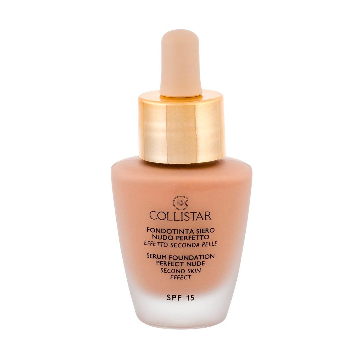Тональный крем Collistar Serum Foundation Perfect Nude Second Skin Effect SPF 15 3 Nude 30 мл