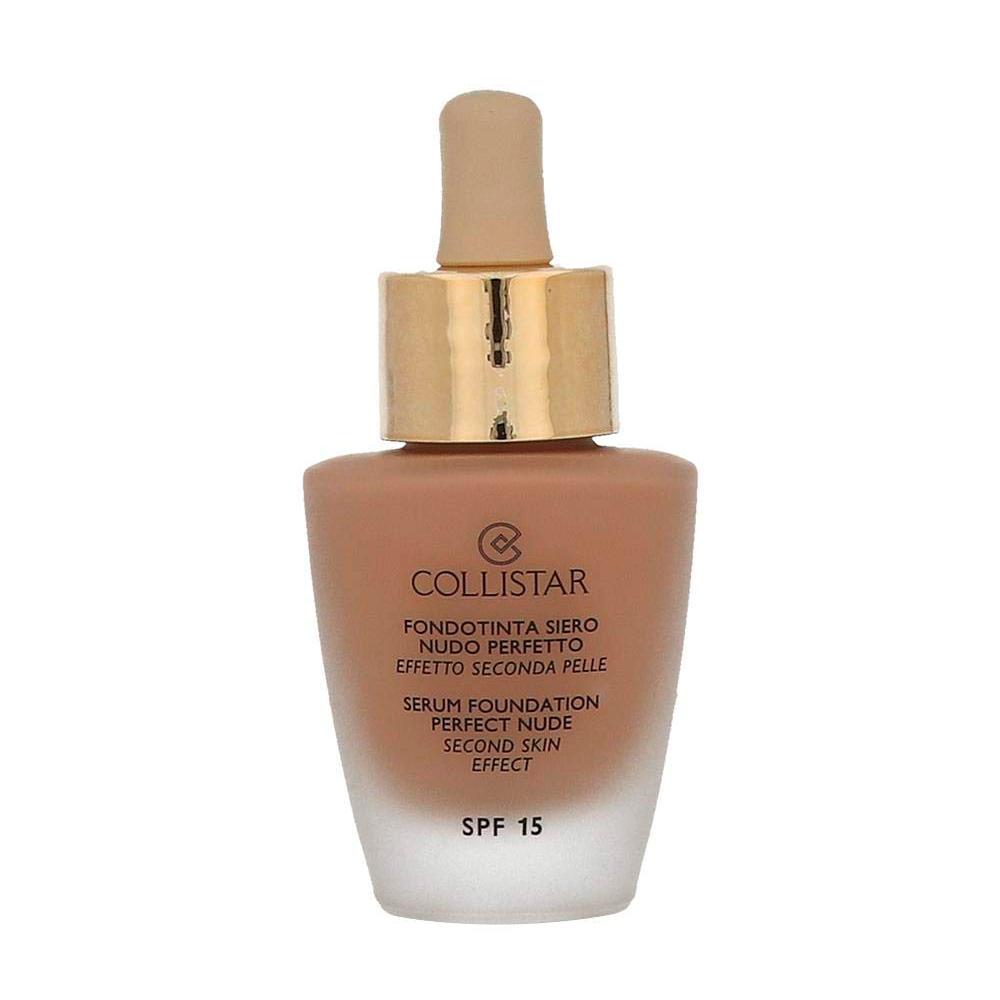 Тональный крем Collistar Serum Foundation Perfect Nude Second Skin Effect SPF 15 4 Sand 30 мл