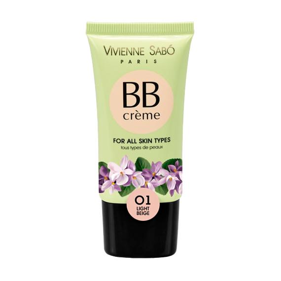 Купить Тональный крем Vivienne Sabo BB Creme 01 Light Beige, 25 мл