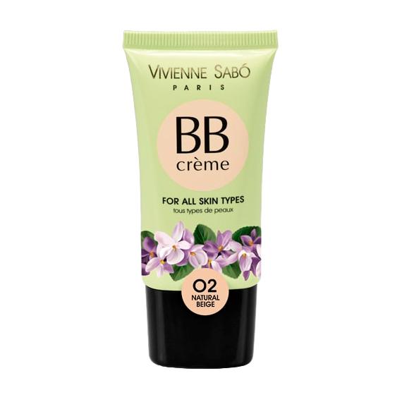 Тональный крем Vivienne Sabo BB Creme 02 Natural Beige, 25 мл  - купить со скидкой