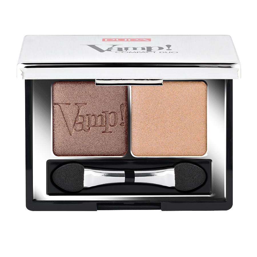 Двойные компактные тени для век Pupa Vamp! Compact Duo Eyeshadow 04, 2.2 г