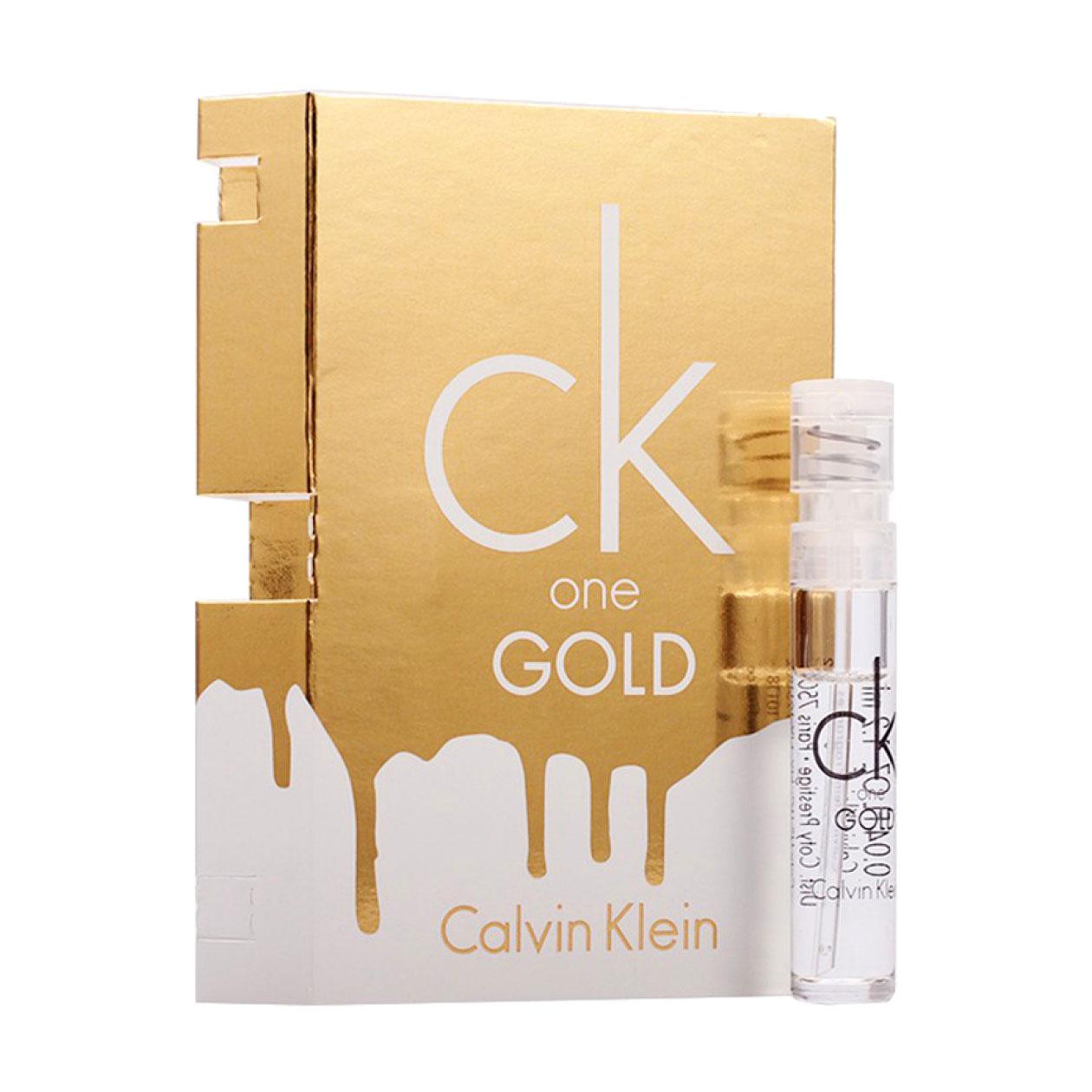 Calvin Klein One Gold Туалетная вода унисекс, 10 мл