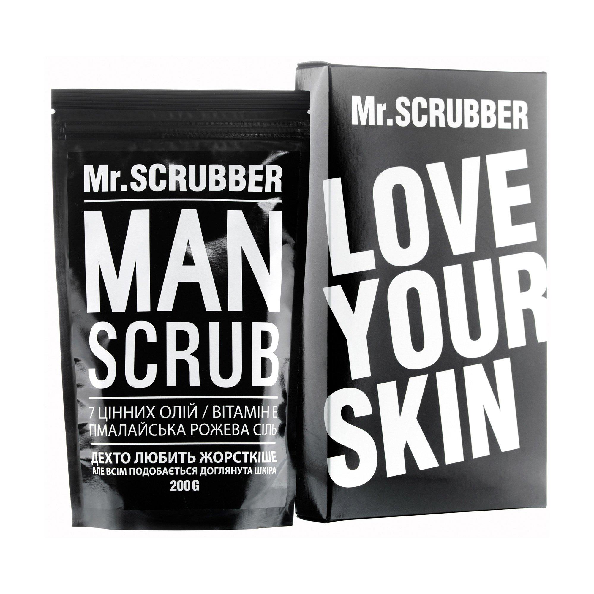 Мужской кофейный скраб для тела и лица Mr.Scrubber Man Coffee Bean для всех типов кожи, 200 г