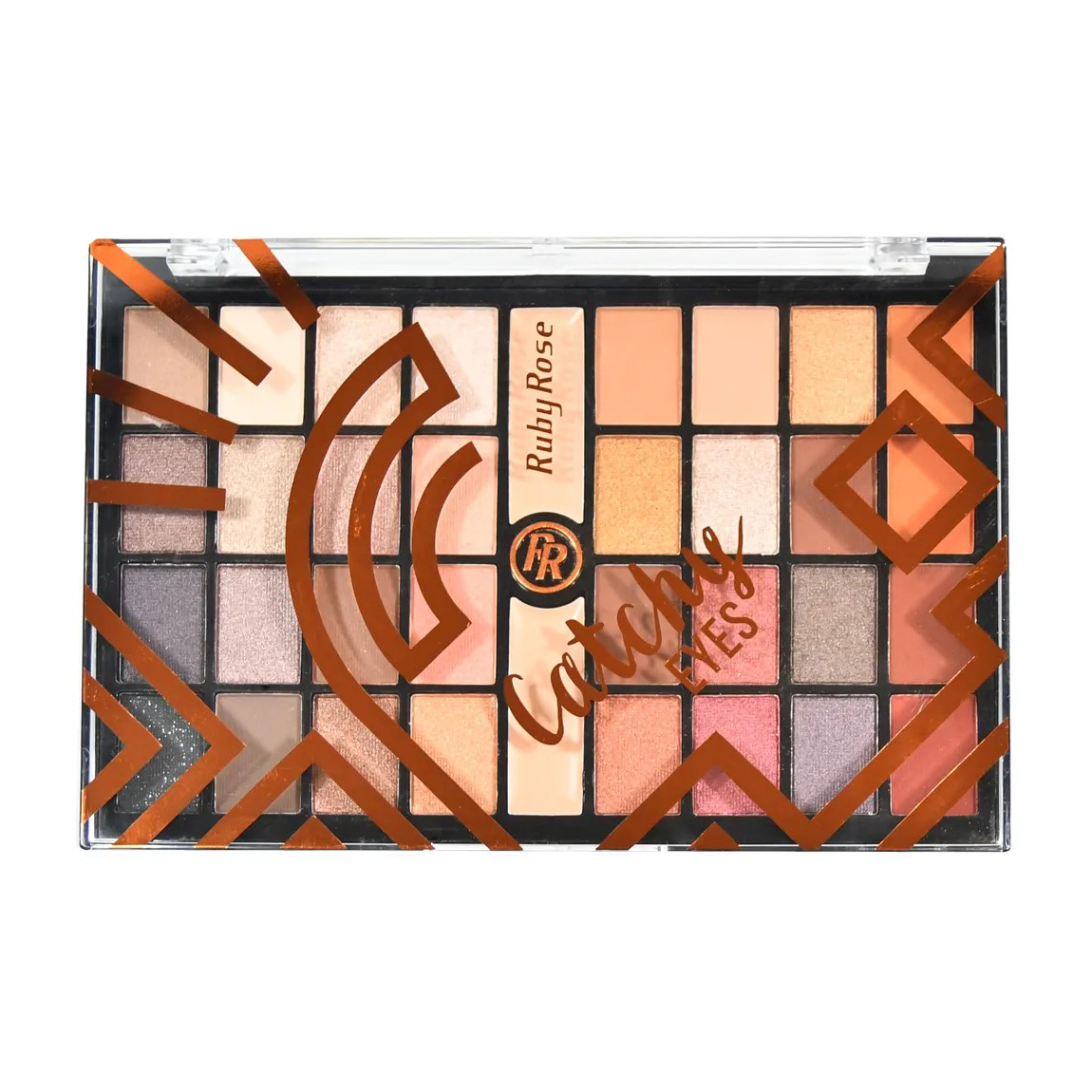 Палетка тіней для повік з праймером Ruby Rose Eyeshadow Palette Catchy Eyes НВ-9979, 26.8 г