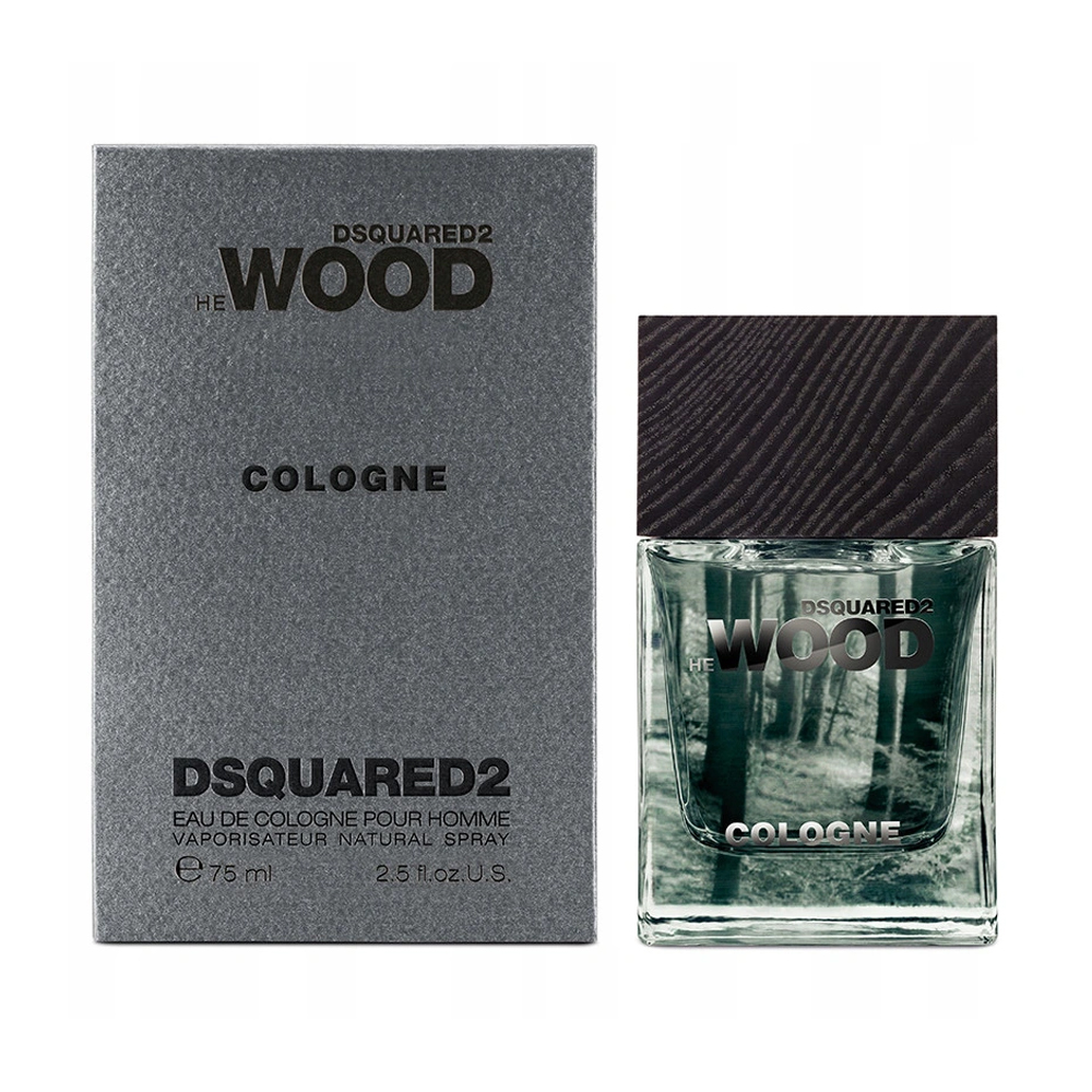 Dsquared2 He Wood Cologne Одеколон чоловічий, 75 мл