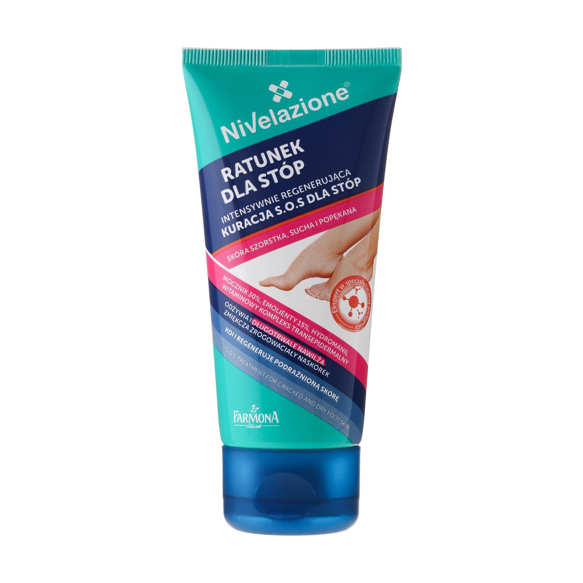 Купить Крем для ног Farmona Nivelazione S.O.S Treatment For Cracked And Dry Foot Skin, 50 мл