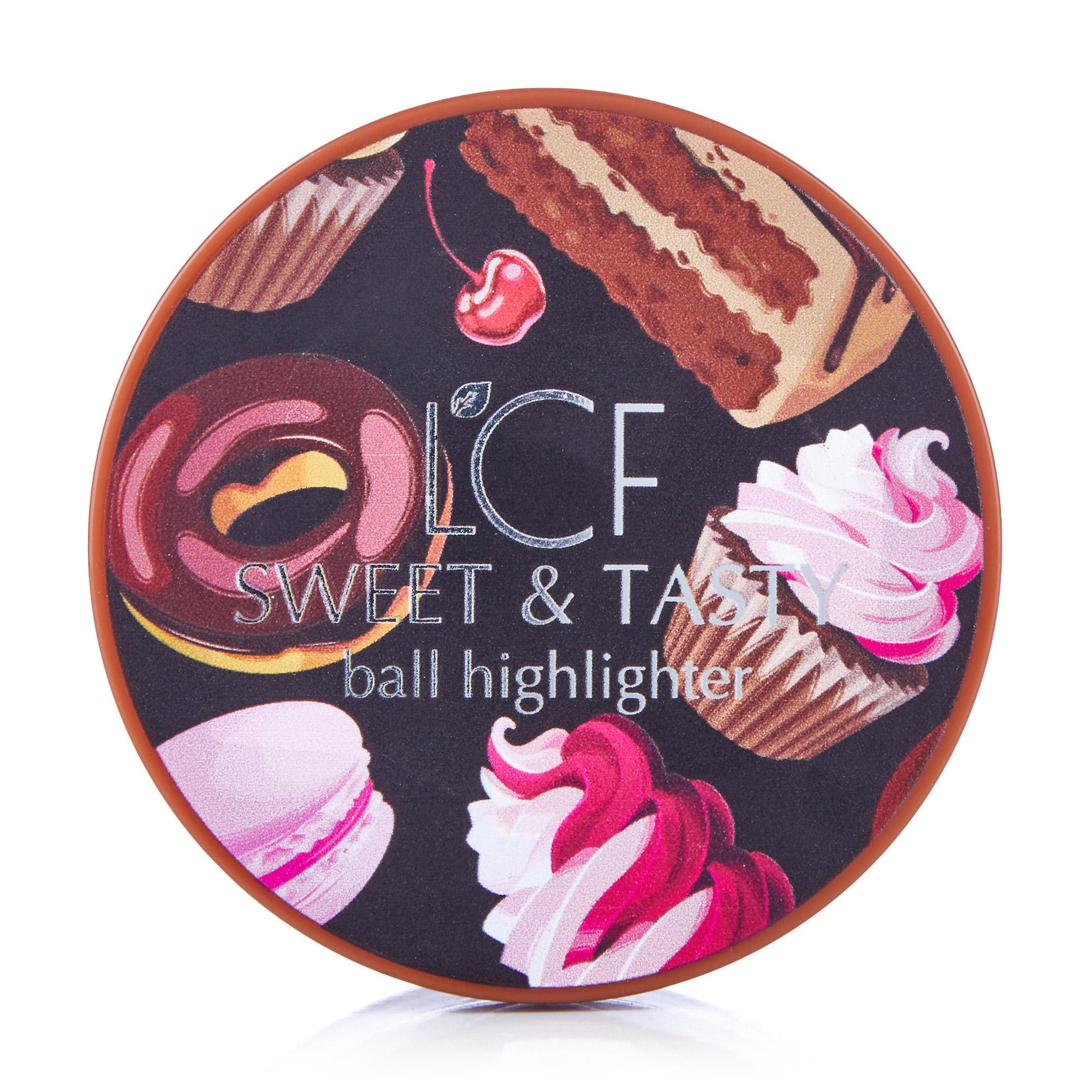 Хайлайтер кульковий LCF Sweet and Tasty Тон 1, 16 г