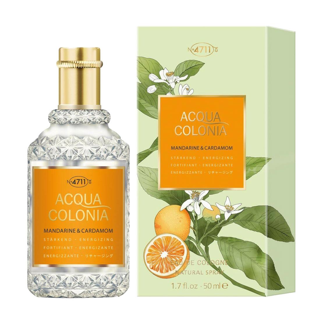 Maurer & Wirtz 4711 Acqua Colonia Mandarine & Cardamom Одеколон унісекс, 50 мл