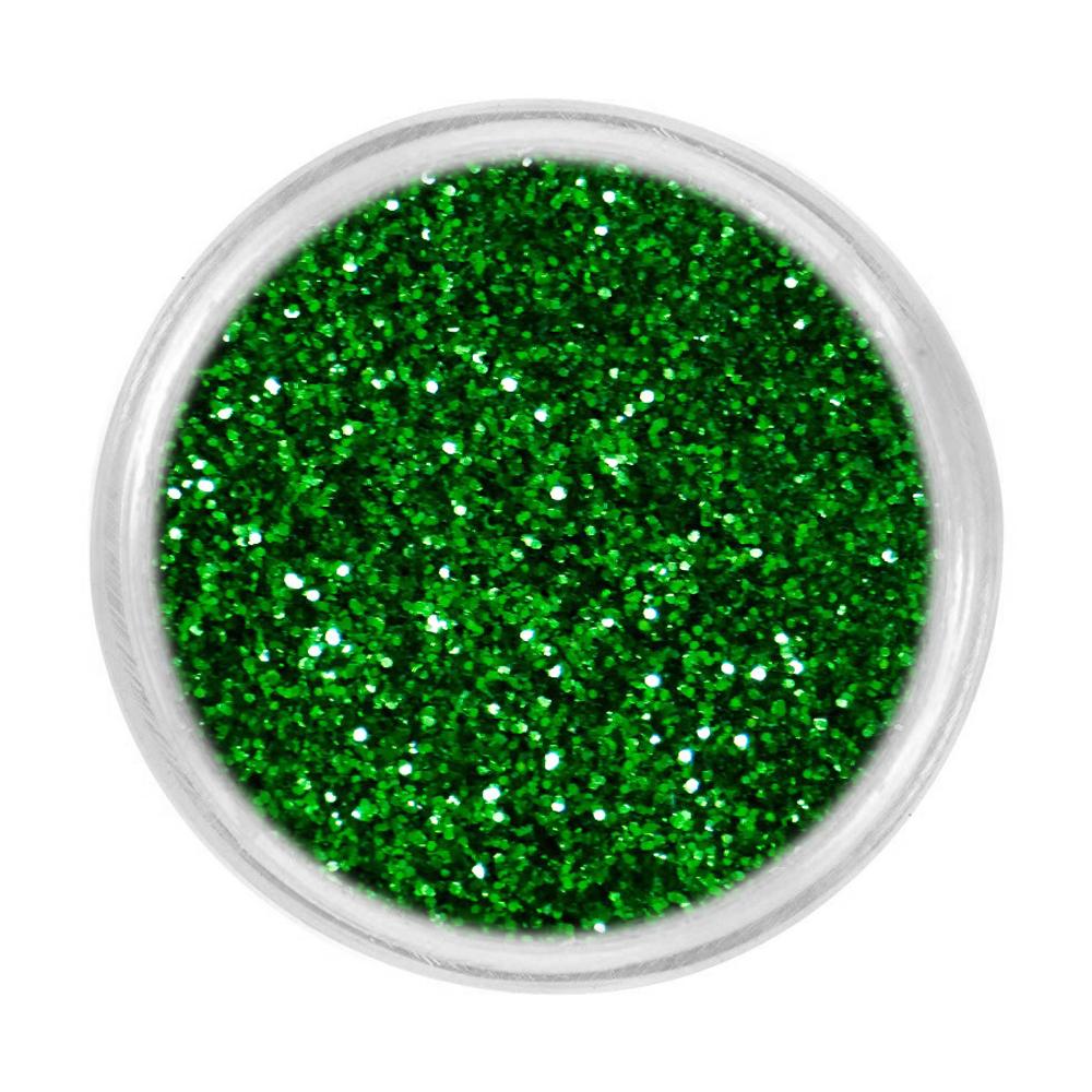 Блискітки для нігтів Tufi Profi 25 (733-054) зелений, 3 г