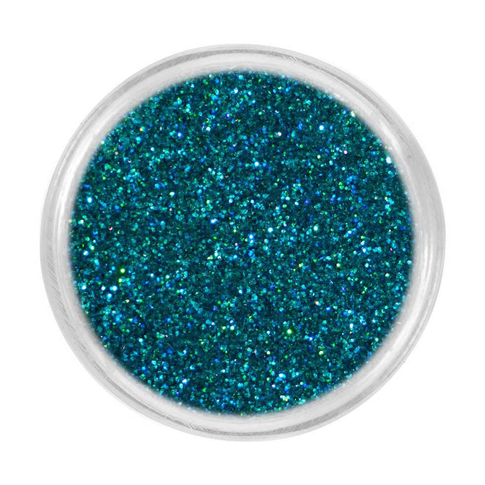 Блискітки для нігтів Tufi Profi 30 (733-012) голографік, темно-бірюзовий, 3 г